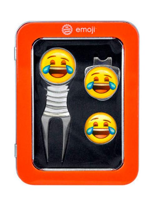 Emoji Divot Tool Gift Set Laughing