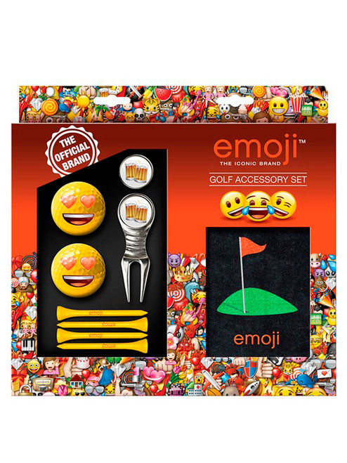 Emoji Golf Accessory Set Love Beer Golf