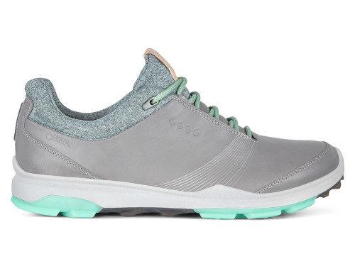 Ecco W Biom Hybrid 3 Golf Shoes - Wild Dove/Emerald
