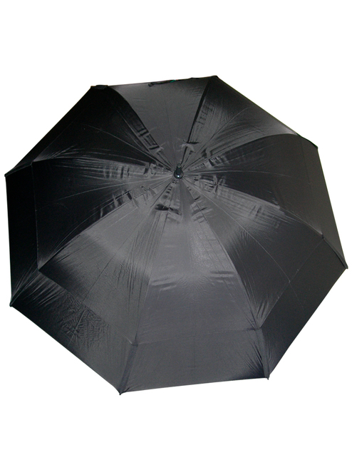 GustBuster Pro Series Gold Umbrella 62 Inch Black