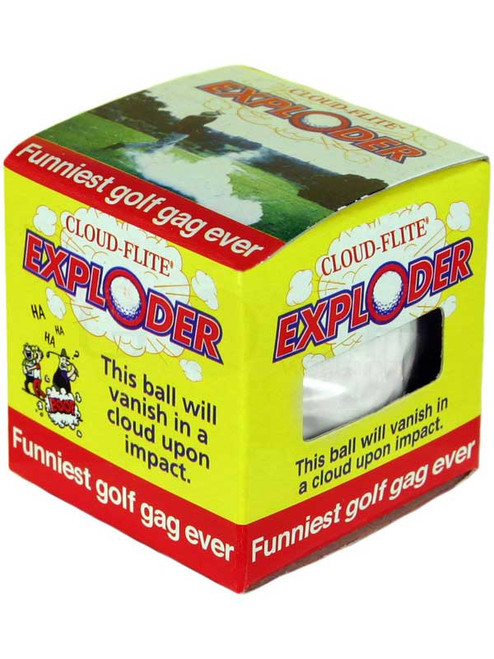 Trick Golfball Exploding Ball