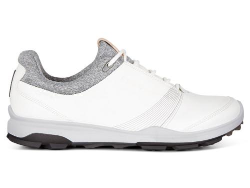 Ecco W Biom Hybrid 3 Golf Shoes - White/Black