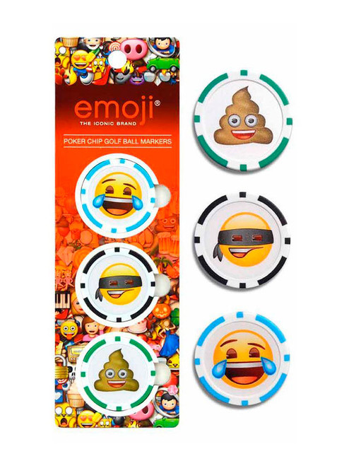 Emoji Poker Chip Ball Markers