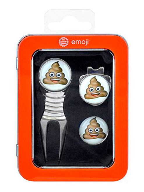 Emoji Divot Tool Gift Set Poop