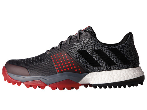Adidas Adipower S Boost 3 Golf Shoes - Onix/C Black/Scarlet