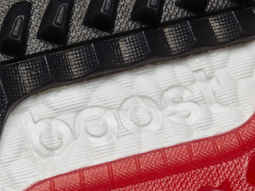 Adidas Adipower S Boost 3 Golf Shoes - Onix/C Black/Scarlet