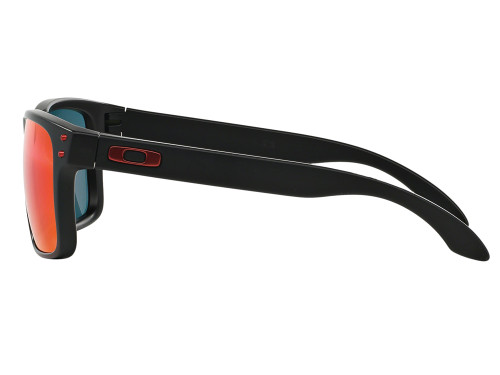Oakley Holbrook Sunglasses - Matte Black w/ +Red Iridium