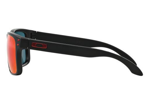 Oakley Holbrook Sunglasses - Matte Black w/ +Red Iridium