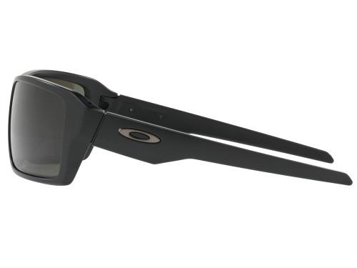 Oakley Double Edge Sunglasses - Matte Black w/ Dark Grey