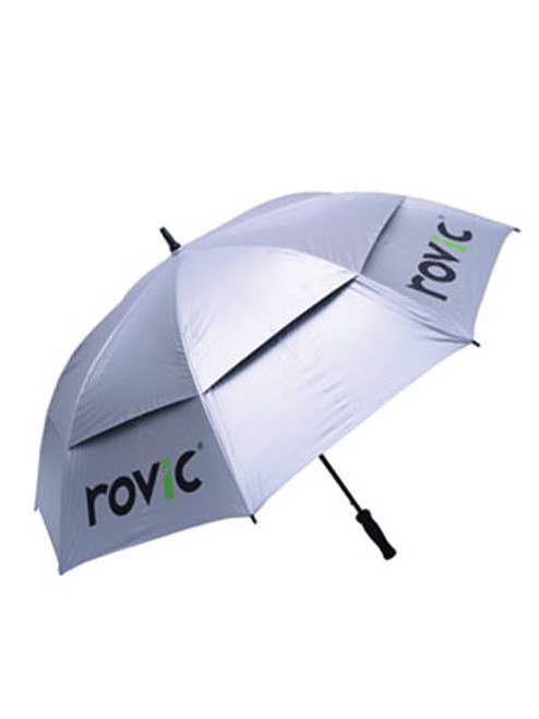 Rovic 30 Inch Automatic Umbrella Silver