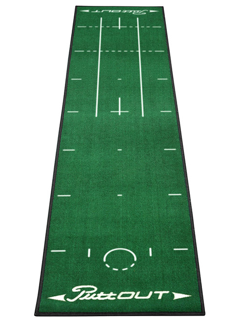 PuttOUT Pro Golf Putting Mat Green