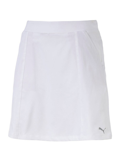 Puma W 18'' Pounce Skort - Bright White