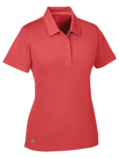 Adidas Ladies Ultimate SS Polo - Real Coral