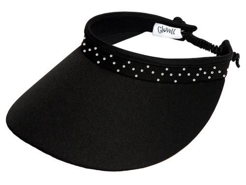 Glove It Bling Crystal Coil Visor - Black