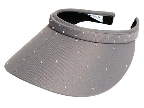 Glove It Bling Crystal Clip Visor - Grey