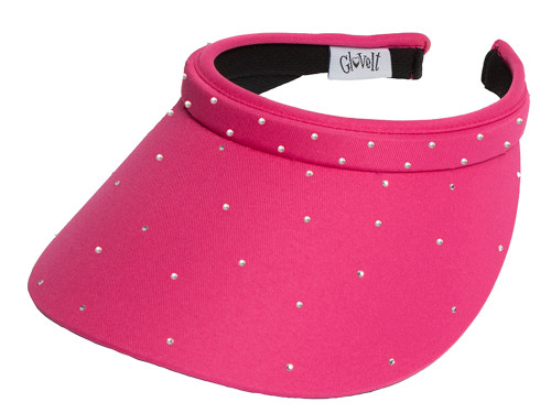 Glove It Bling Crystal Clip Visor - Pink