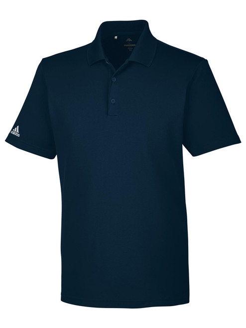 Adidas Mens Performance Polo - Collegiate Navy