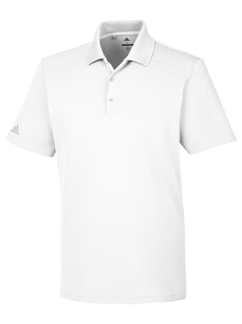 Adidas Mens Performance Polo - White