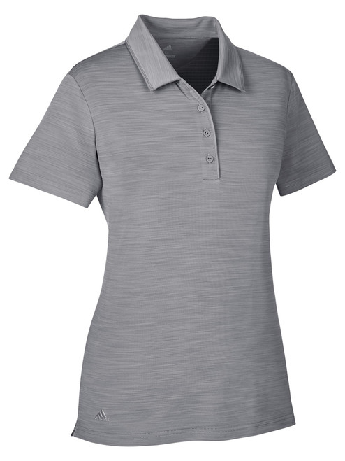 Adidas Ladies Ultimate SS Polo - Grey Three