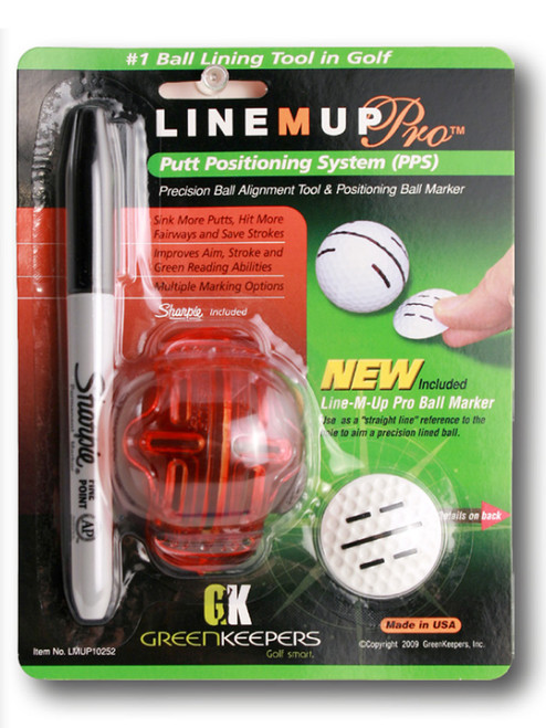 GreenKeepers Line M Up Pro Putt Position System