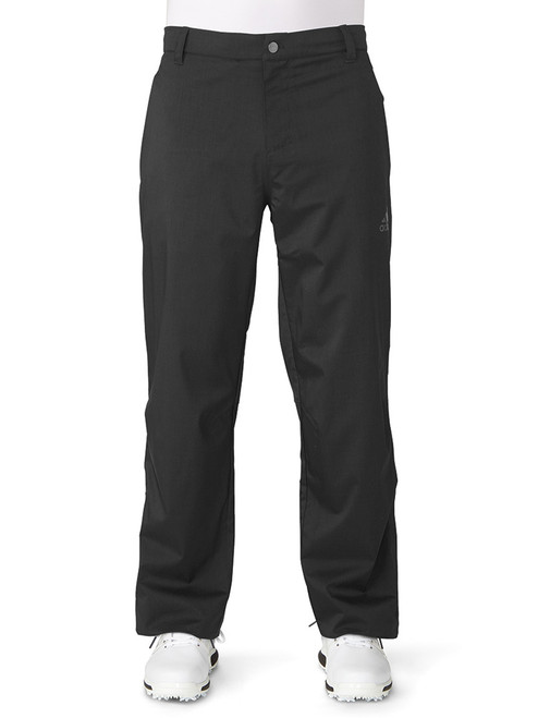 Adidas Climaproof Heather Rain Pant - Black/Night Grey