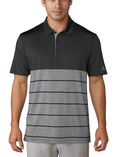 Adidas Ultimate 365 Merch Polo - Carbon/White HTR