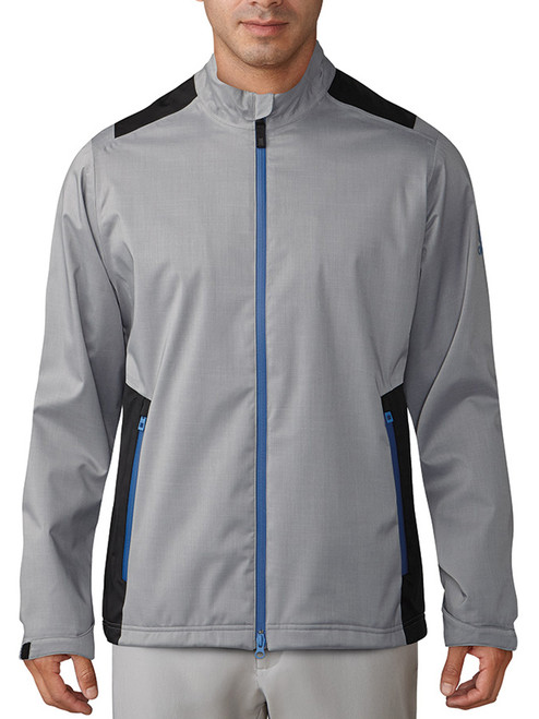 Adidas Climaproof Heather Rain Jacket - Grey Three