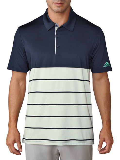 Adidas Ultimate 365 Merch Polo - Collegiate Navy/Aero Green