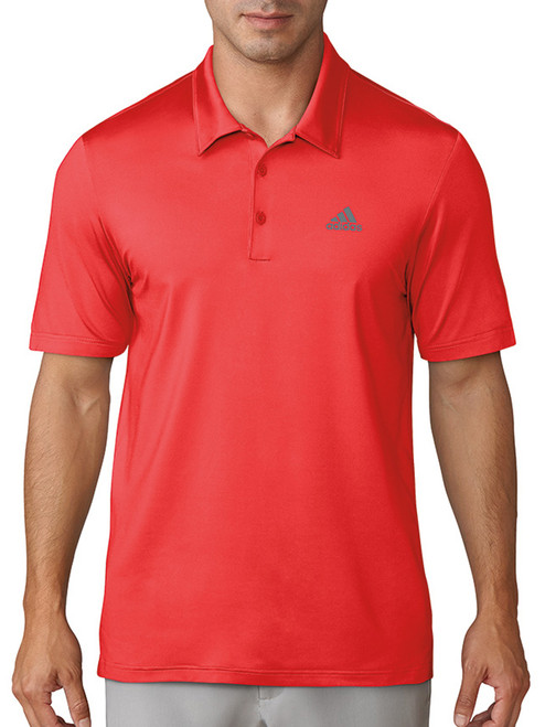Adidas Ultimate 365 Solid Polo - Hi Res Red