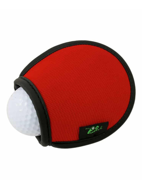 Green-Go Pocket Ball Washer Red