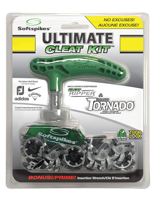 SoftSpikes Tornado Ultimate Cleat Kit