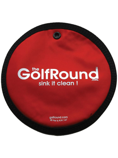 The Golf Round Red