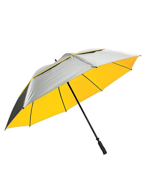 SunTek 68 Inch Umbrella Silver/Yellow
