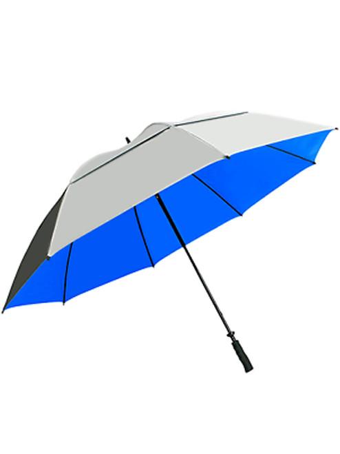 SunTek 68 Inch Umbrella Silver/Blue