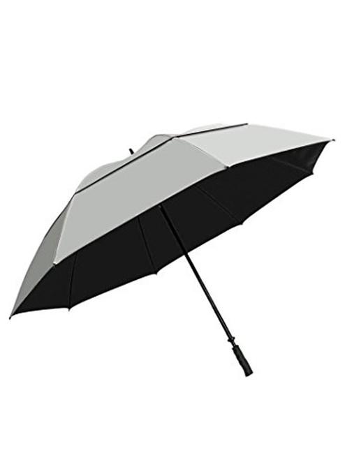 SunTek 68 Inch Umbrella Silver/Black