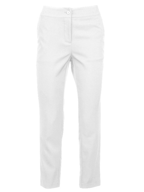 Greg Norman Ladies Easy Play Stretch Pant - White