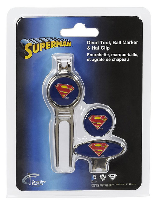 Creative Covers Superman Divot Tool & Marker Set