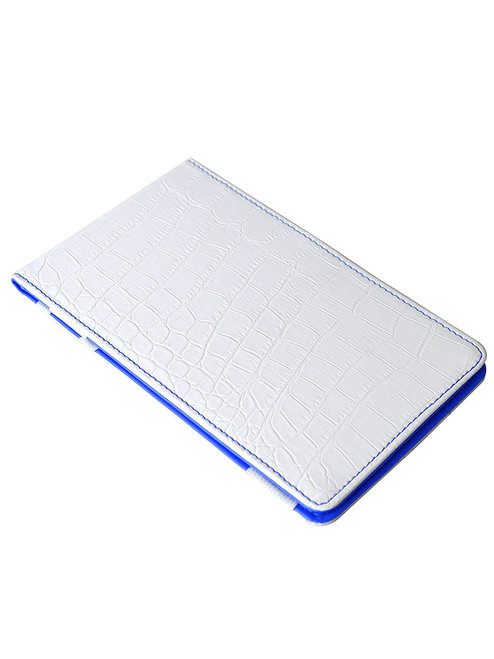 OnPar Scorecard Holder Croc Print White/Blue