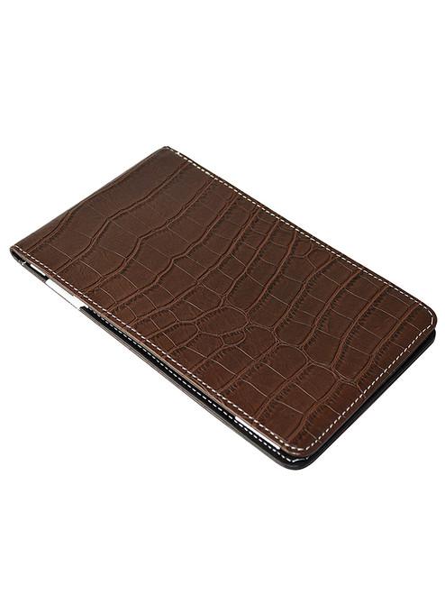 OnPar Scorecard Holder Croc Print Brown/Black