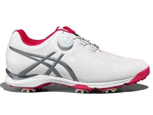 Asics Ladies Gel Ace Tour 3 BOA Golf Shoes - White/Grey