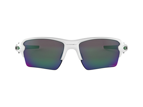 Oakley Flak 2.0 XL Sunglasses - White w/ Prizm Jade