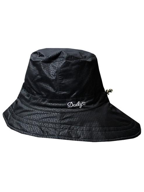 Daily Sports Ladies Merion Rain Hat - Black