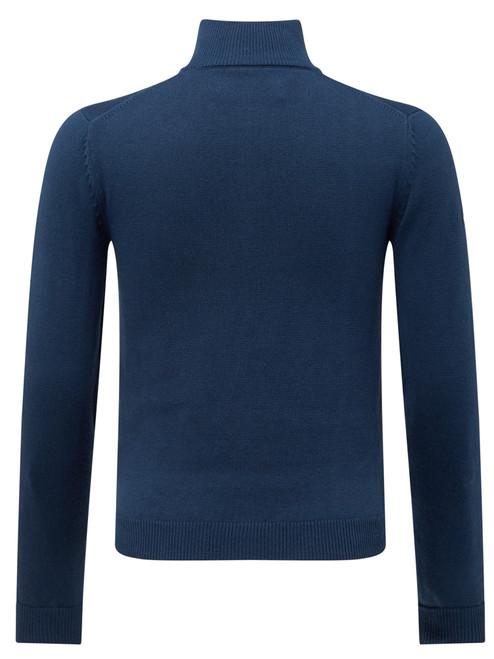 Callaway Youth Boys 1/4 Zip Sweater - Dress Blue