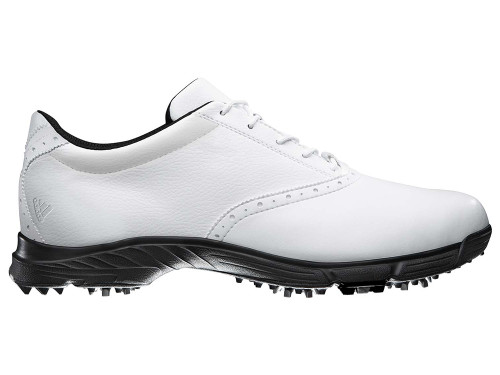 Adidas Golflite 5z Golf Shoes - Feather White/Core Black