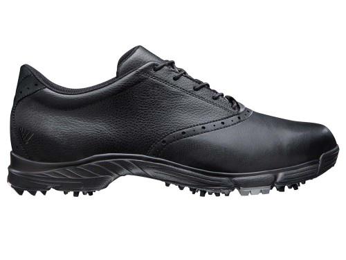 Adidas Golflite 5z Golf Shoes - Core Black/Silver Metallic