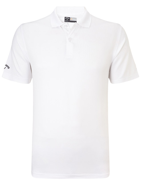 Callaway Youth Boys Solid Polo II - Bright White