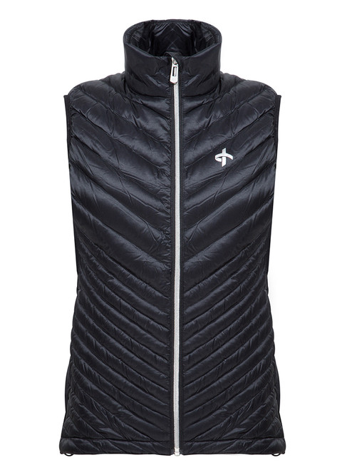 Cross W Utility Vest - Black