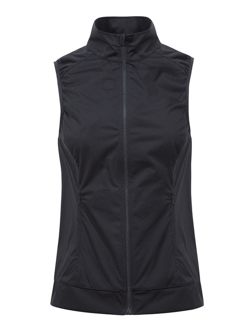 Cross W Wind Vest - Black