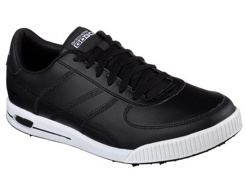 Skechers Go Golf Classic Golf Shoes - Black/White