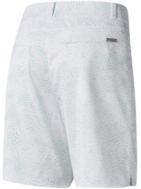 Adidas Ladies Printed 7 Inch Short - Hi-Res Aqua F18